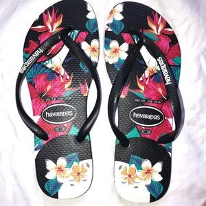 Havaianas Tropical Flip Flops